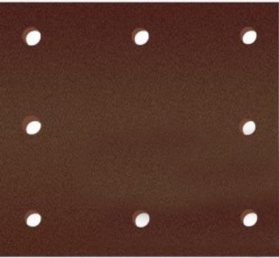 Лист шлифовальный Интерскол 105х114мм 8отв Velcro k80 Al2O3 5шт 0800 002