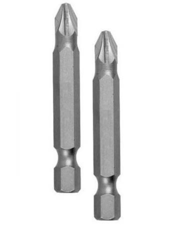 Бита EDGE 818010028 PH2 длина 50 мм, 2шт в блистере бита edge 818010029