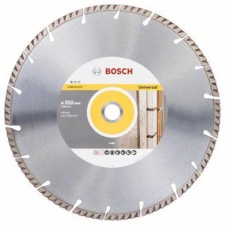 Круг алмазный BOSCH 2608615071 stf universal 350х25.4мм видеоскоп bosch universal inspect [0603687000]