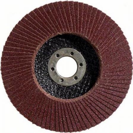 Круг Лепестковый Торцевой (КЛТ) BOSCH 2608603657 standard or metal угловое 125мм К60