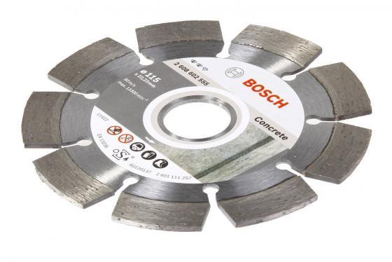 Диск алм. BOSCH Expert for Concrete 230x22 сегмент (2.608.602.559) 230 Х 22 сегмент bosch 2 608 602 655 best for concrete 230x22