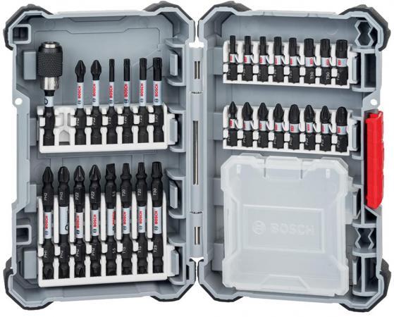 Набор оснастки BOSCH Impact Control (2.608.522.366) проф. биты + пластиковый контейнер bosch maz0fb контейнер для жарки во фтирюре
