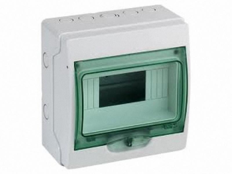 Бокс Schneider Electric Kaedra 8 модулей 13978 щиток навесной для 8 модулей пластиковый ip65 schneider electric kaedra
