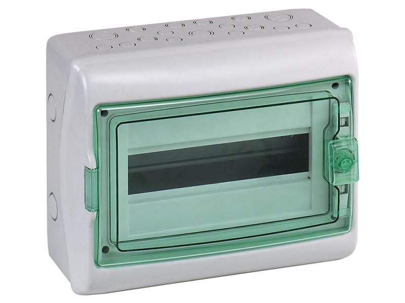 Бокс Schneider Electric Kaedra 12 модулей 13981 щиток навесной schneider electric kaedra для 24 модулей пластиковый ip65