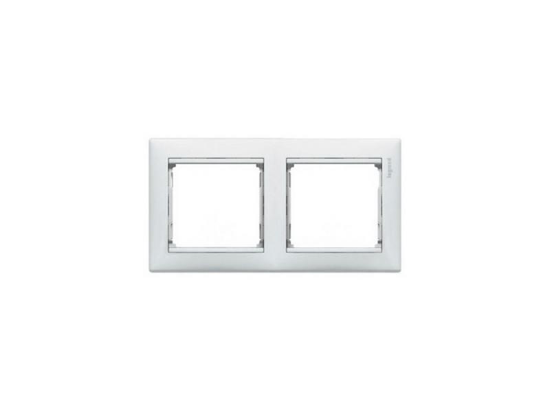 Картинка для Рамка Legrand Valena двухместная белая 774452