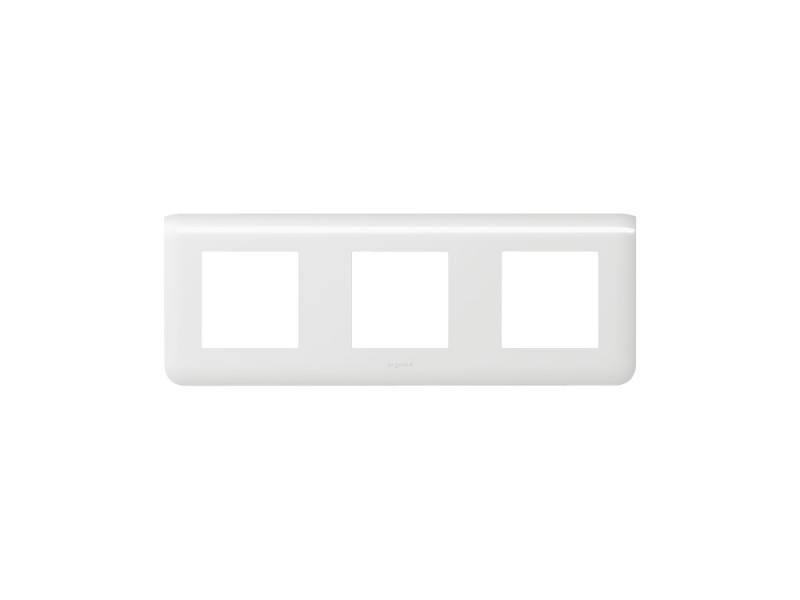 Рамка Legrand Mosaic 3х2 модуля горизонтальная 78806 anam legrand anam legrand zunis бежевый рамка 2 ая тлф2 тлф2 4 модуля 7101 84i