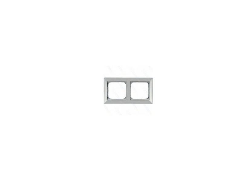 Рамка Legrand Valena 2 поста алюминий/серебряный штрих 770352 рамка legrand valena 2 поста алюминий серебряный штрих 770352