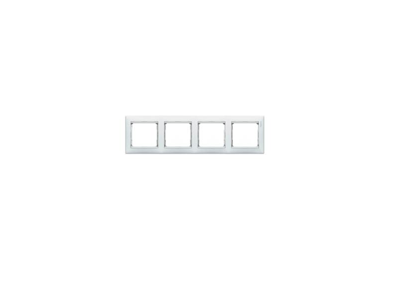 Рамка Legrand Valena четырехместная белая 774454