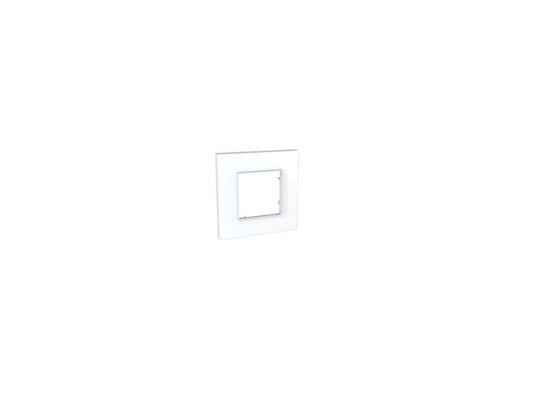 Рамка UNICA QUADRO 1 пост белый MGU2.702.18