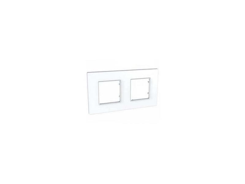 Рамка 2 пост белый Schneider Electric MGU2.704.18 рамка 3 пост белый schneider electric m smart mtn478319