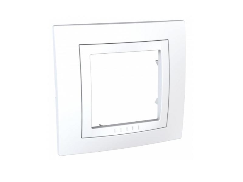 Рамка 1 пост белый Schneider Electric MGU2.002.18