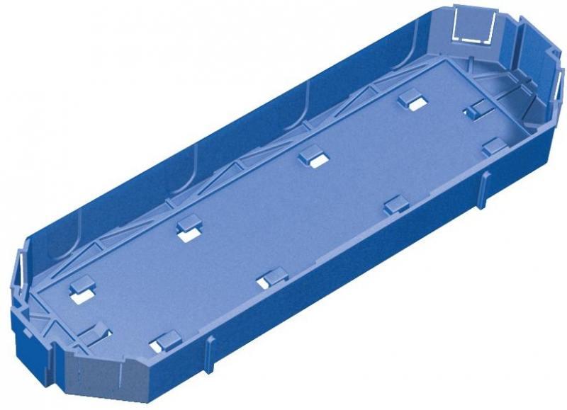 Крышка для суппорта Schneider Electric OptiLine 45 ISM50801