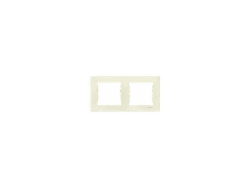 Рамка 2 пост бежевый Schneider Electric SDN5800347