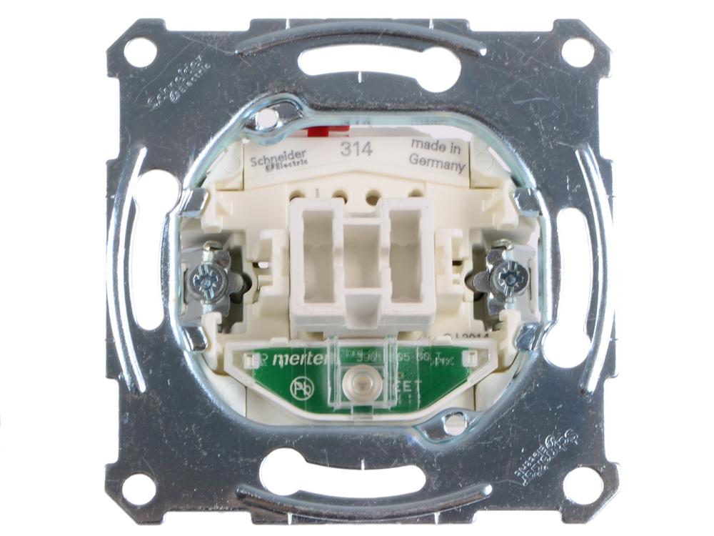 Выключатель Schneider Electric 1-клавишный с подсветкой MTN3136-0000 выключатель schneider electric 1 клавишный mtn3112 0000