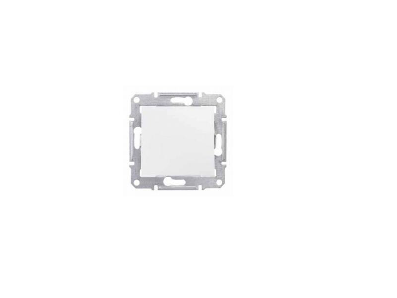 Выключатель Schneider Electric 1-клавишный белый SDN0100121