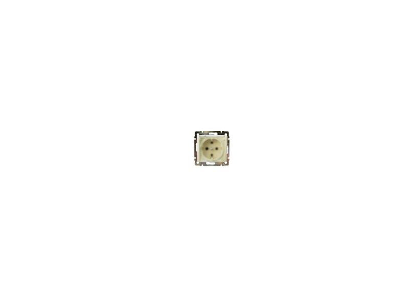 Картинка для Розетка Legrand Valena 2К+З нем. с крышкой IP44 слоновая кость 774120