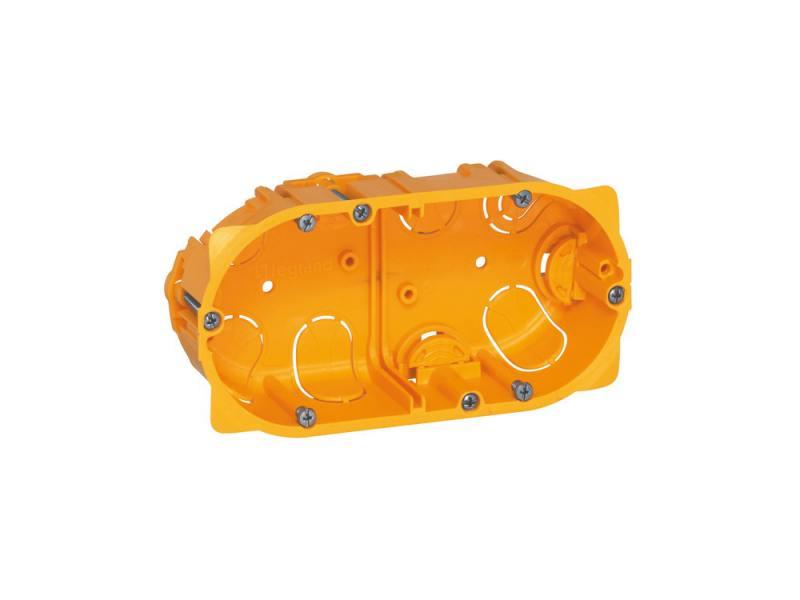 Электромонтажная коробка Legrand Batibox для сухих перегородок 2 поста глубина 40мм 80042