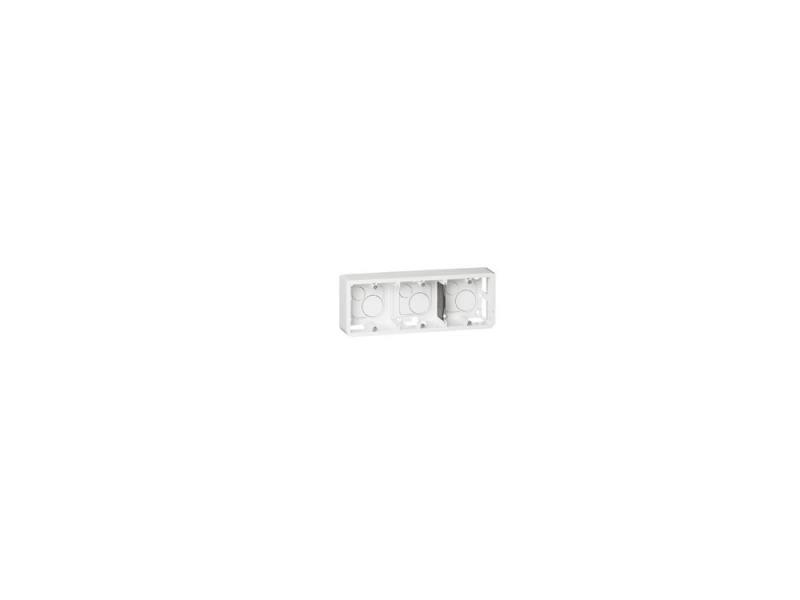 Коробка накладная Legrand Mosaic 6/8 модулей высота 40мм белый 80286