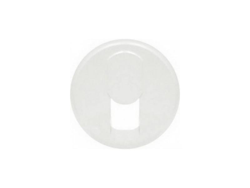Лицевая панель Legrand Celiane для розетки телефонной белый 68237 лицевая панель legrand celiane для розетки 2к з ip44 67841
