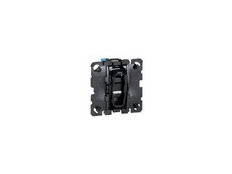 Двухклавишный переключатель-выключатель на 2 направления Legrand Celiane 10А 67001