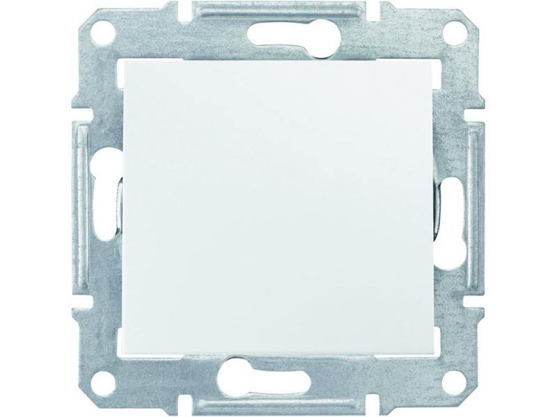 Переключатель Schneider Electric Sedna 1-клавишный белый SDN0400121