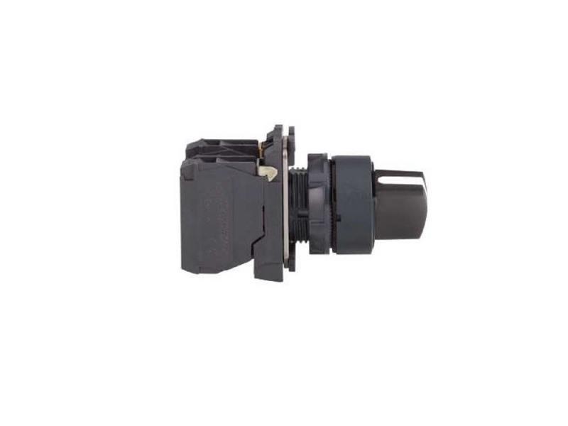 Переключатель Schneider Electric 22мм 2 позиции черный XB5AD21