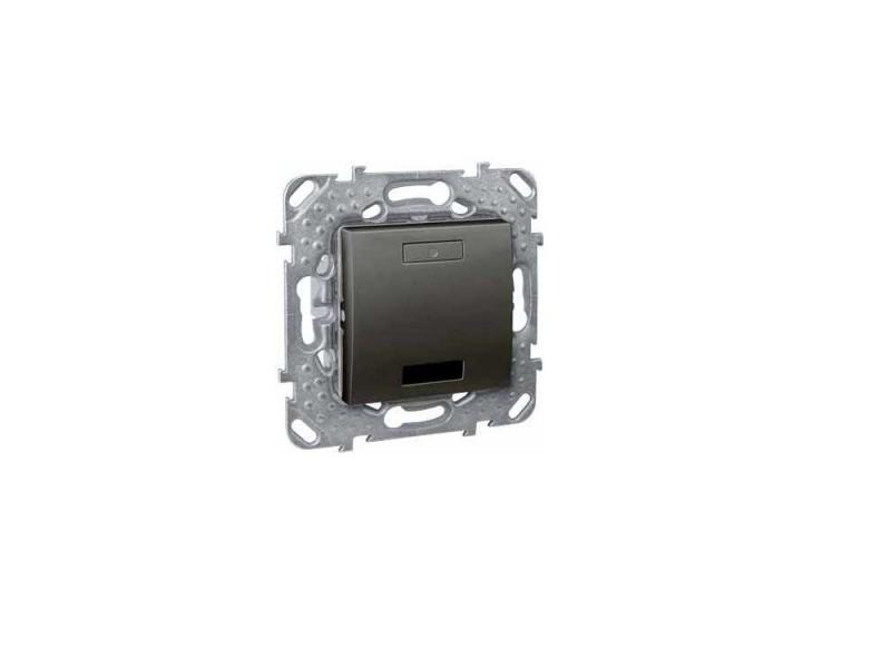 Переключатель Schneider Electric 1-клавишный MGU5.205.12ZD настенный переключатель makegood 1 1 mg uk01b