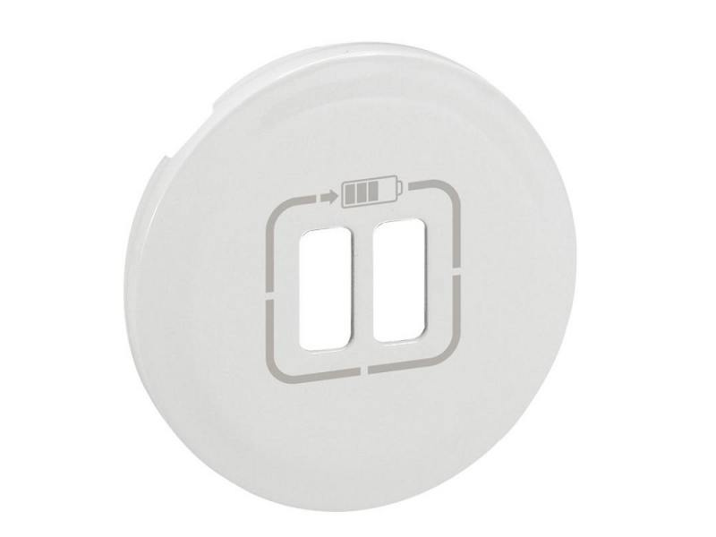 Лицевая панель Legrand Celiane для USB-розетки белая 68256 лицевая панель legrand celiane для розетки 2к з ip44 67841