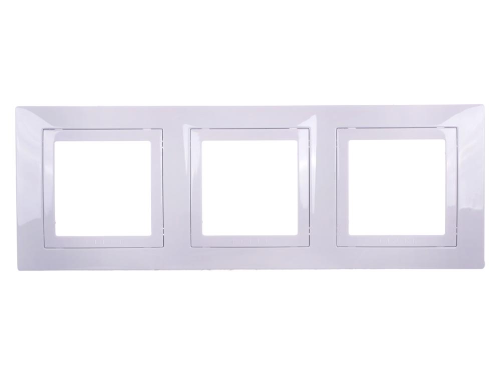 Рамка 3 пост белый Schneider Electric MGU2.006.18