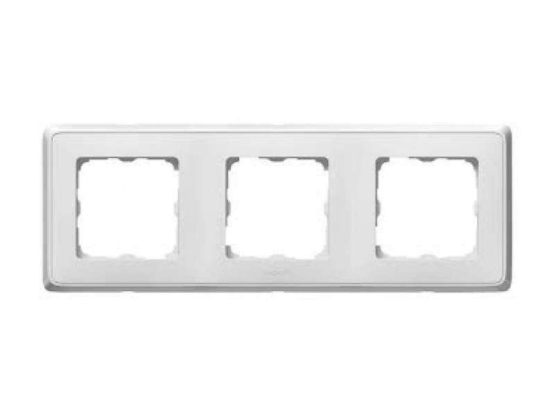 Рамка Legrand Cariva 3 поста белый 773653