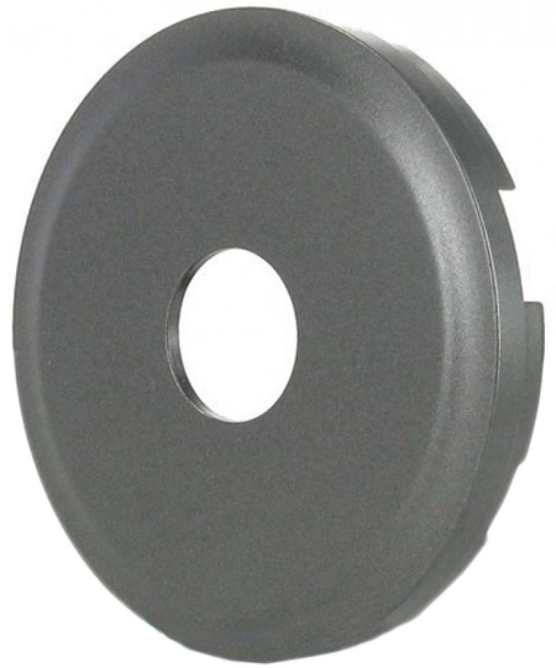 Лицевая панель Legrand Celiane для ТВ розетки графит 67982 лицевая панель legrand celiane для розетки 2к з ip44 67841