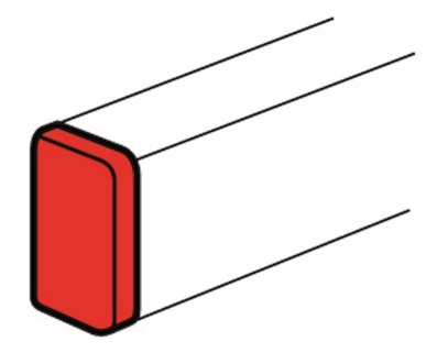 Заглушка Legrand торцевая 150x50 белый 10703 заглушка legrand торцевая 150x65 10706