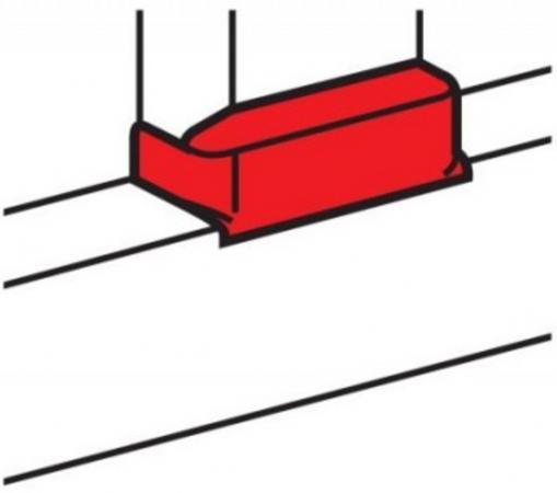 Картинка для Отвод плоский Legrand для односекционных кабель-каналов DLP 50х105 ширина профиля 105 мм 10740 белый