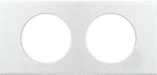 Рамка Legrand 2 поста белый 31611