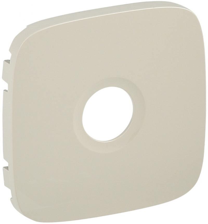 Лицевая панель Legrand Valena Allure для розеток ТВ слоновая кость 754766