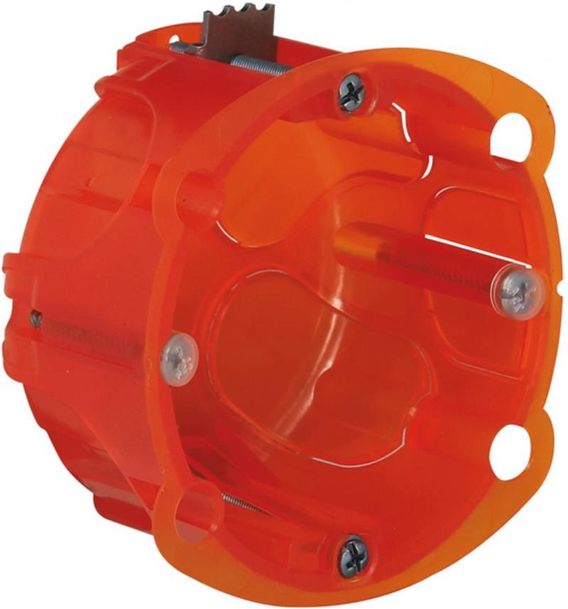 Электромонтажная коробка Legrand Batibox повышенной прочности 1 пост глубина 50мм 80121