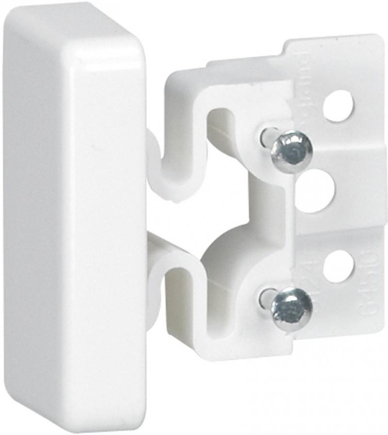 Заглушка торцевая Legrand для мини-плинтуса DLPLUS 40X16мм 31208 мини плинтус legrand самоклеющийся 10 5х11 30098