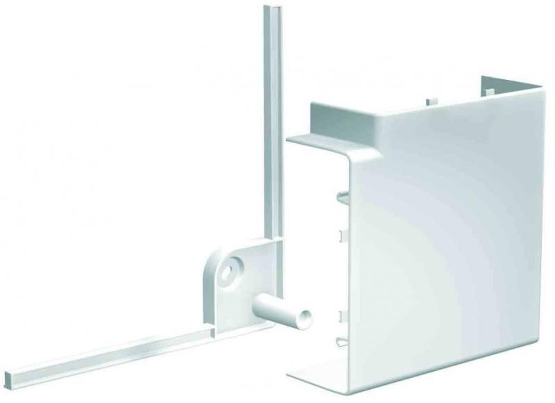 Угол короба Schneider Electric OptiLine плоский 75х55мм ISM10103 угол schneider electric внешний регулируемый 60х21 etk60030