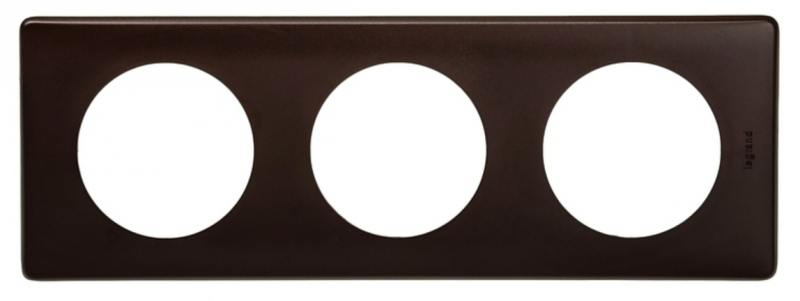 Рамка Legrand Celiane 3 поста черный перкаль 66743 legrand рамка четырехместная legrand celiane норка