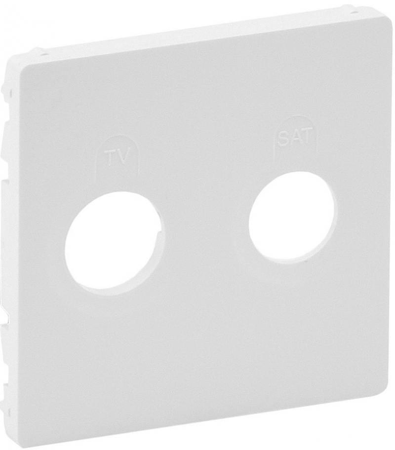 Лицевая панель Legrand Valena Life для розеток TV-SAT белый 754820 ключ блокировки для розеток legrand 50299