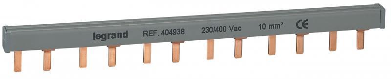 Гребенка распределительная Legrand 2П 12 модулей 10мм2 404938
