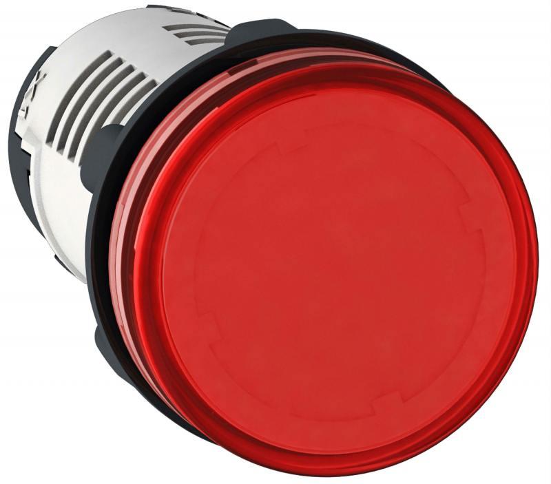 Лампа сигнальная Schneider Electric 22мм 230В красный XB7EV04MP
