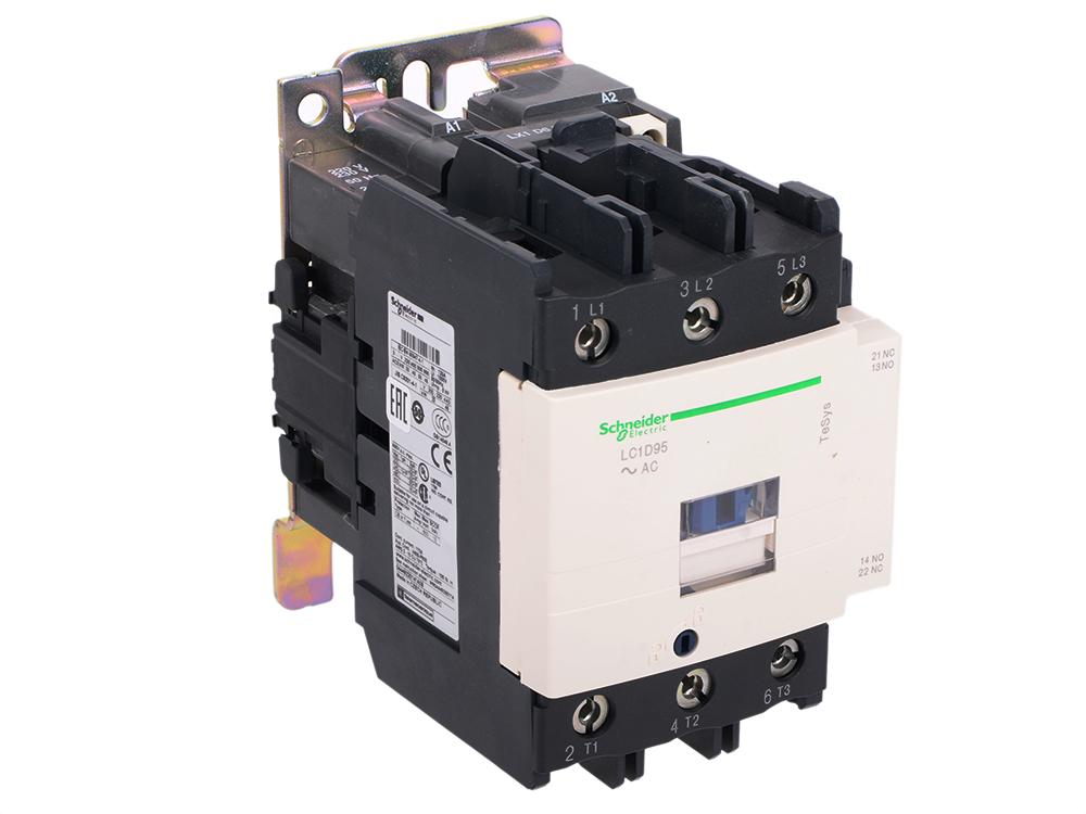 Кантактор  Schneider Electric D 3Р 95 A НО+НЗ 220V 50/60 Гц  LC1D95M7