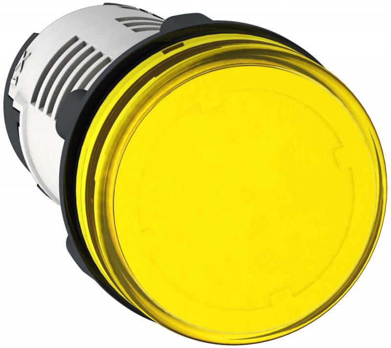Лампа сигнальная Schneider Electric 22мм 230В желтый XB7EV05MP