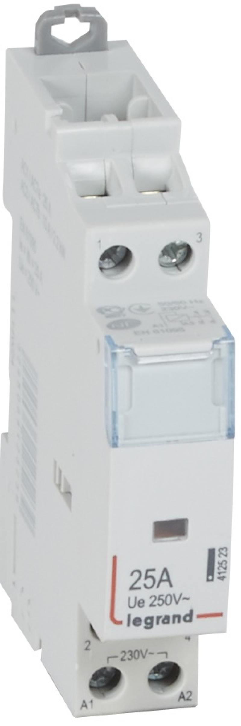 Контактор Legrand CX3 230V 2НО 25А 412523 sennheiser cx 3 00 шумоизолирующие наушники white