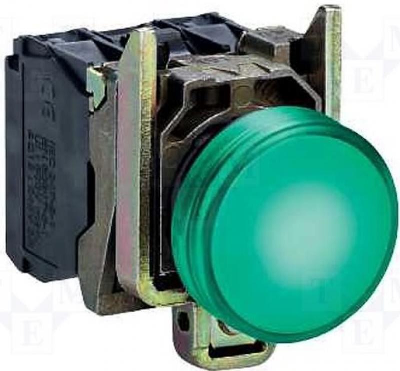 Лампа сигнальная Schneider Electric 22мм 230-240В XB4BVM3 лампа сигнальная abb 230bcl 523r красная