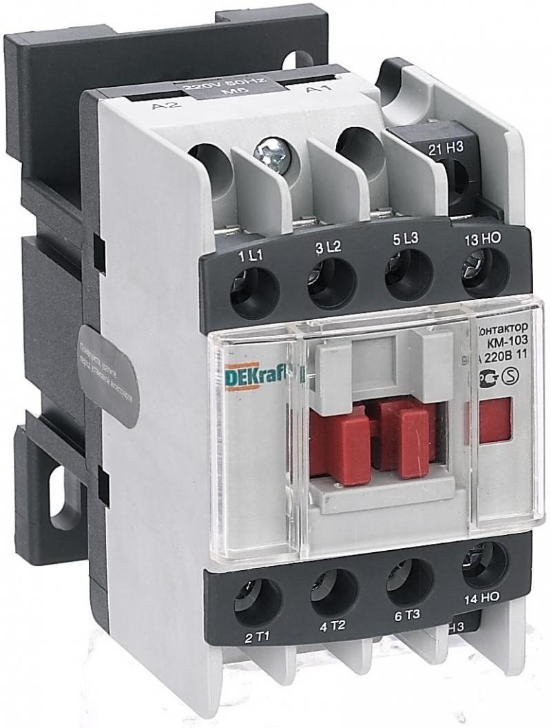 Контактор AC3 Schneider Electric КМ103-009A-380B-1 22104DEK