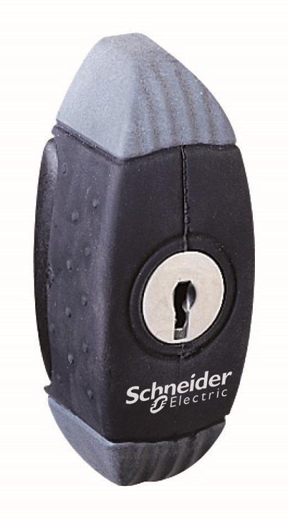 Замок с ключом Schneider Electric NSYAEDL405S3D
