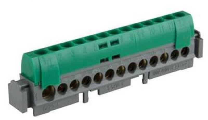 Клеммная колодка Legrand 12х1.5-16мм /земля 4834 клеммная колодка legrand программа plexo 4 клеммы 4мм2 для распределительных коробок dlplus 31210