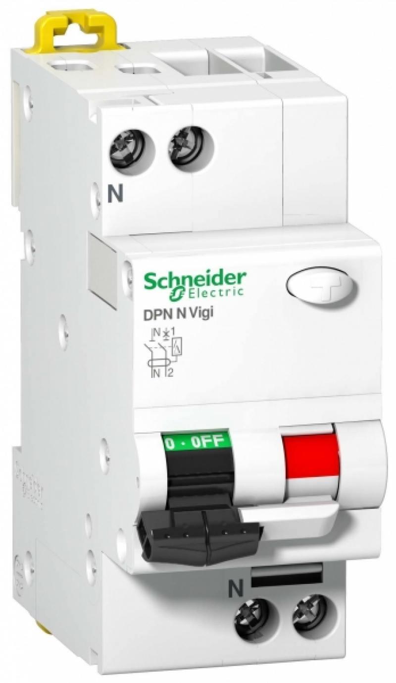 Дифференциальный автоматический выключатель Schneider Electric A9N19661 ад63 schneider electric 11473 дифференциальный автоматический выключатель